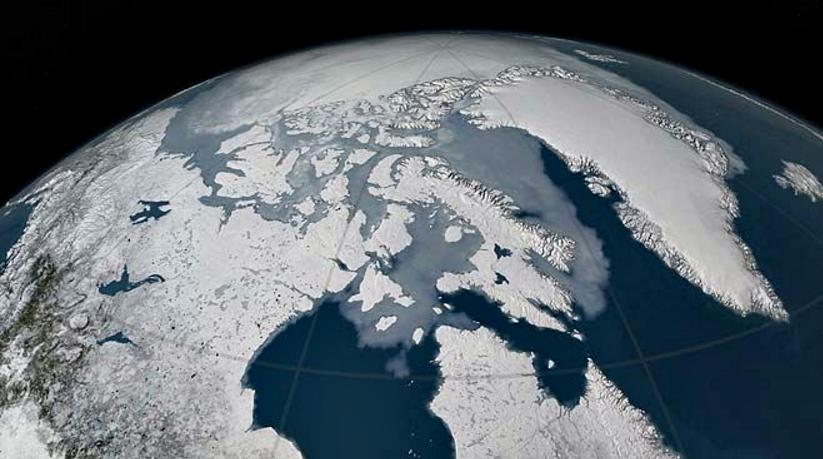 Capa de hielo Artico 1