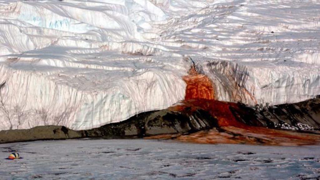 Catarata de sangre en la Antartida 3