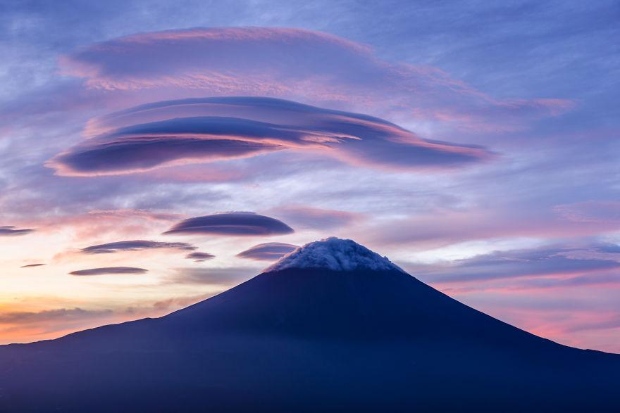 Lenticular y Monte Fuji 2