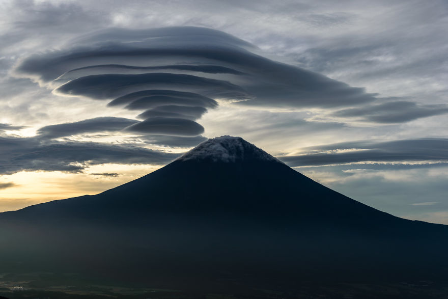 Lenticular y Monte Fuji 4