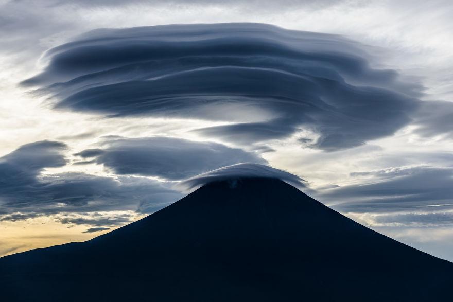 Lenticular y Monte Fuji 5