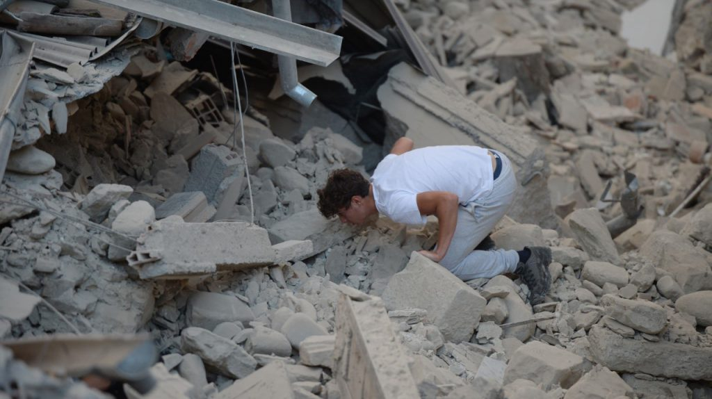 Terremoto en Italia 1