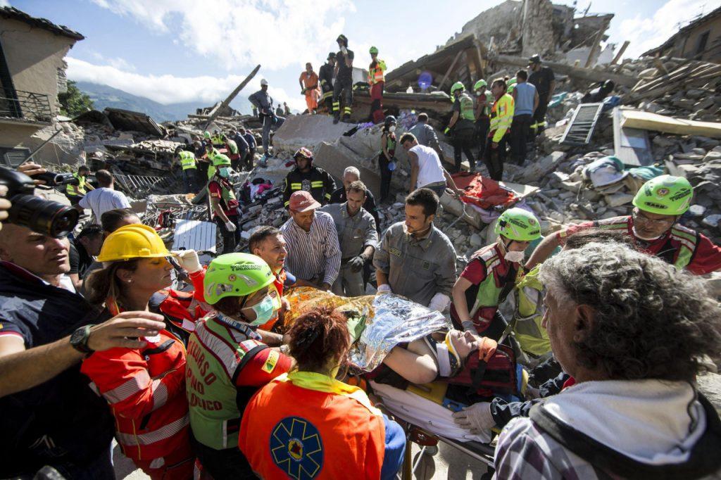 Terremoto en Italia 9 11