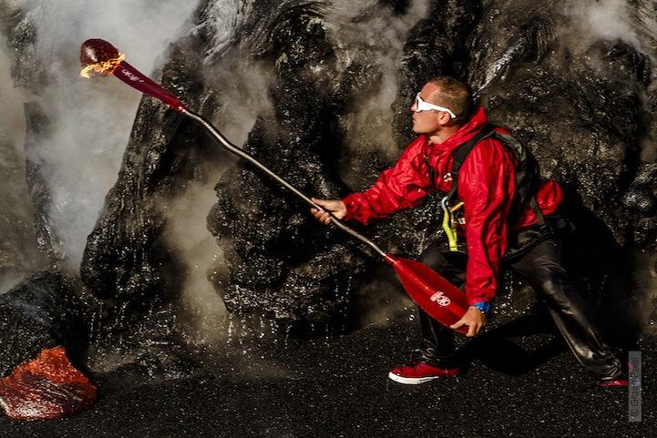 kayac piragua volcan kilauea hawai 10