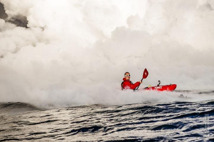 kayac piragua volcan kilauea hawai 3