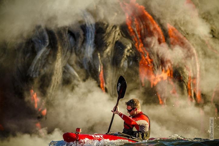 kayac piragua volcan kilauea hawai 4