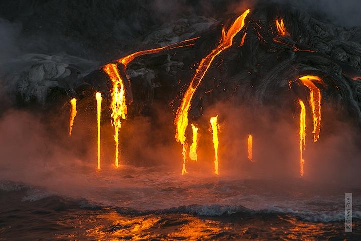 kayac piragua volcan kilauea hawai 6