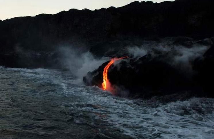 lava del volcan Kilauea en el Pacifico 3