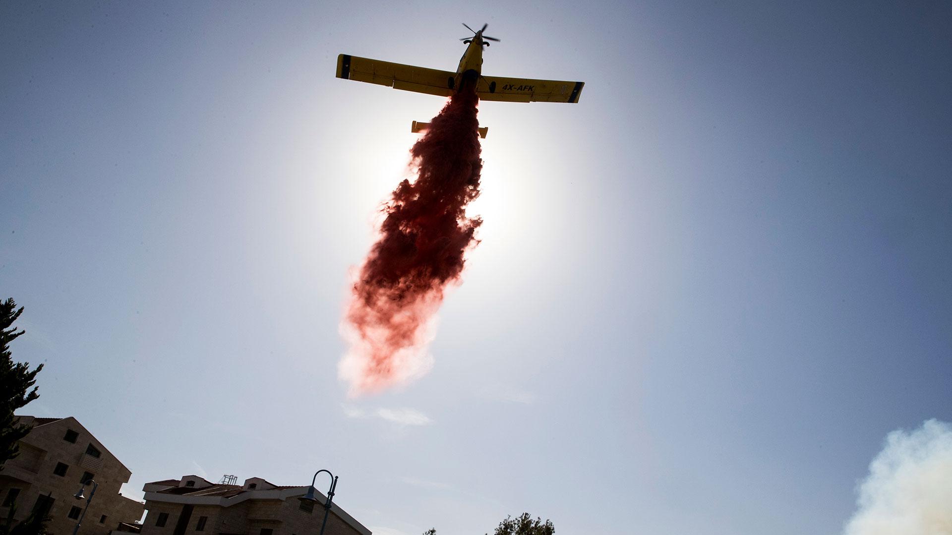 incendio-en-israel