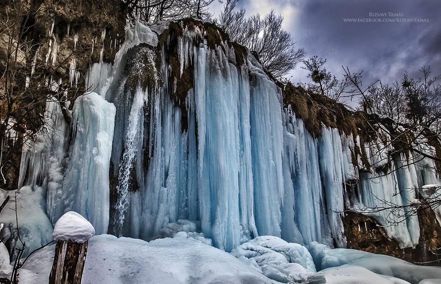 Lagos congelado en Croacia 2