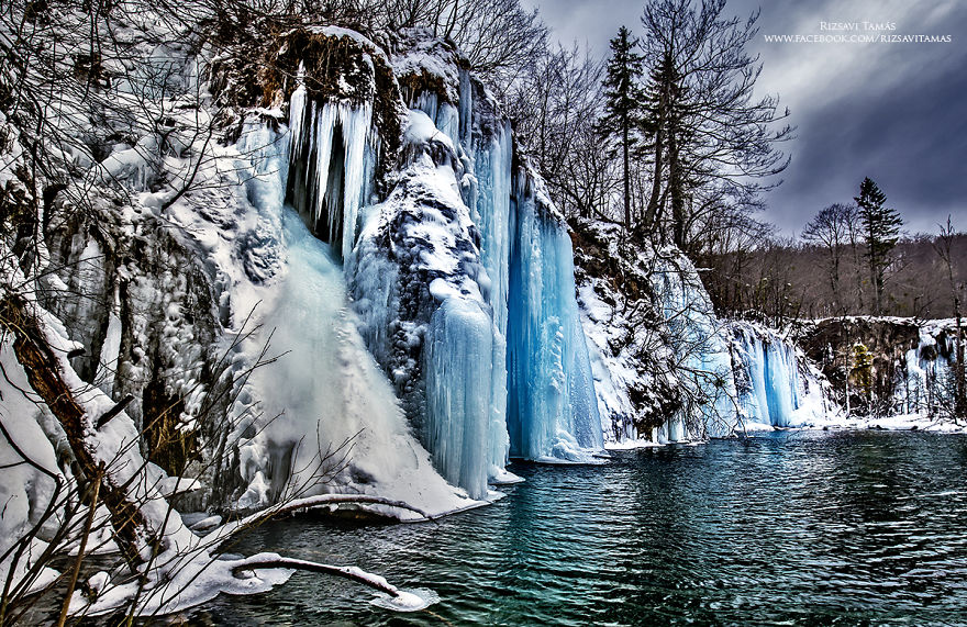 Lagos congelado en Croacia 4
