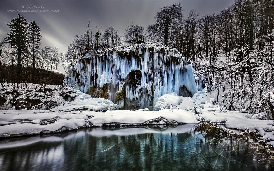 Lagos congelado en Croacia 8