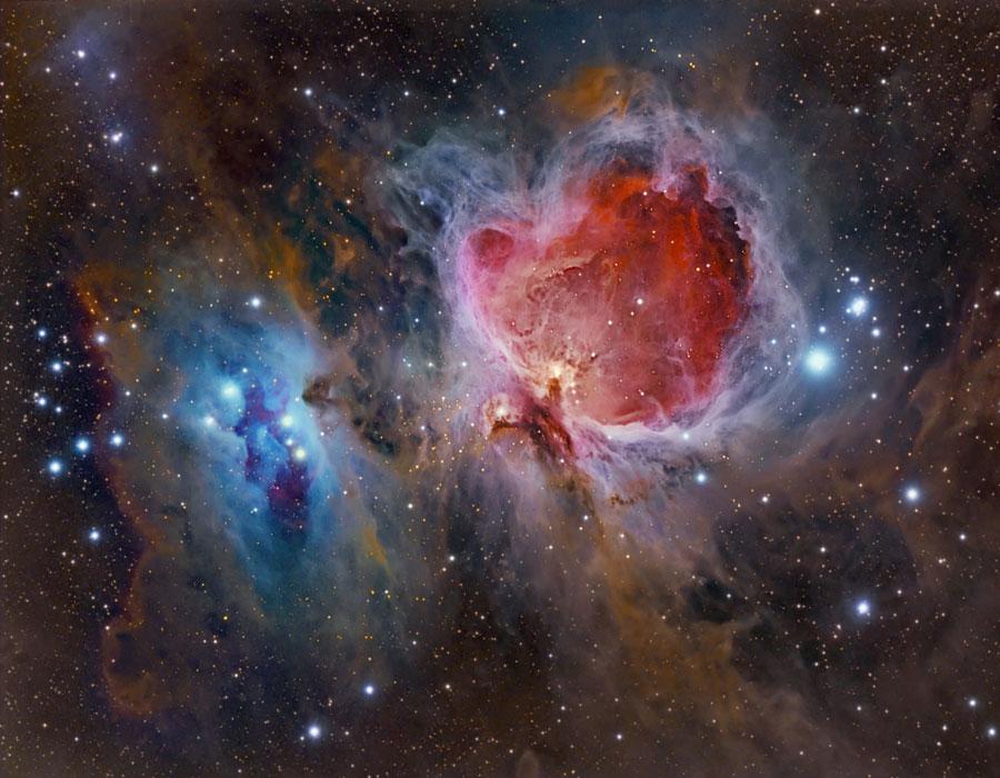 El polvo, gas, y las estrellas en la Nebulosa de Orión – Nuestroclima