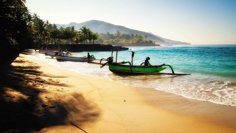Playa de Bali, Indonesia
